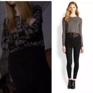 Addison • Rainey Layered Sweater Gray & Black S